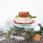 Cheesecake vegan aux poires et aux noix