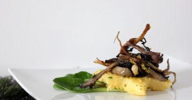 Polenta aux champignons