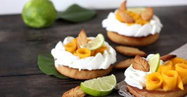 tarte mangue et coco sans gluten
