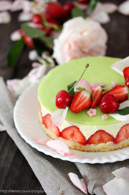 Fraisier traditionnel
