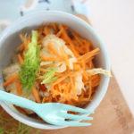 Salade de fenouil, carottes et orange