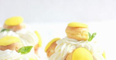 Recette de saint honorés au citron