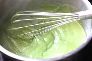 Crème pâtissière vegan à la pistache