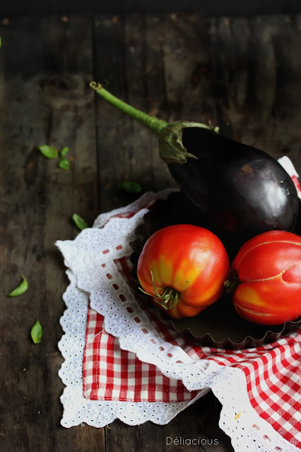 tomates et aubergines low key