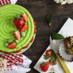 Recette macaron fraise et pistache