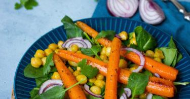 Recette de carottes au four