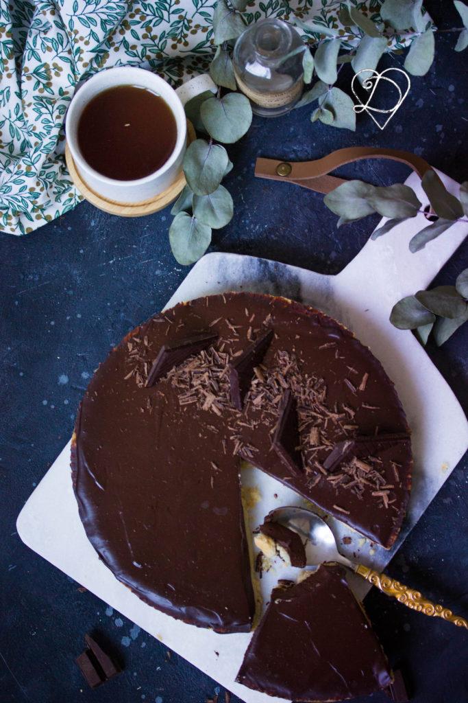 Recette de la tarte au chocolat vegan