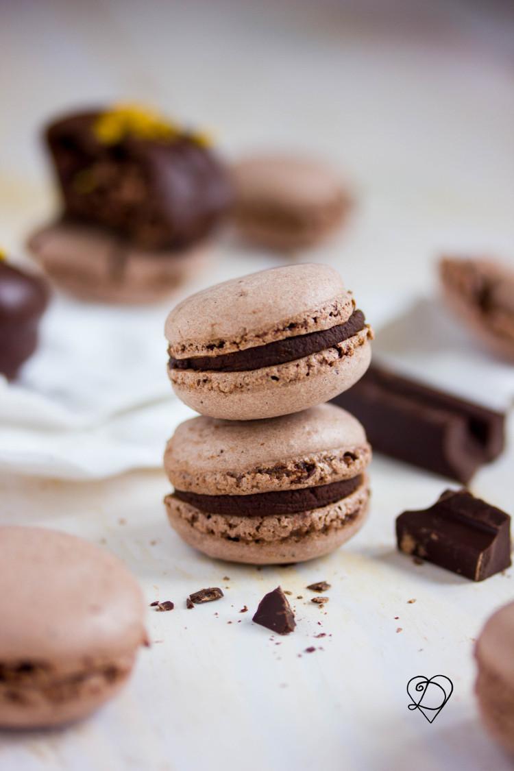 Recette de macarons vegan au chocolat