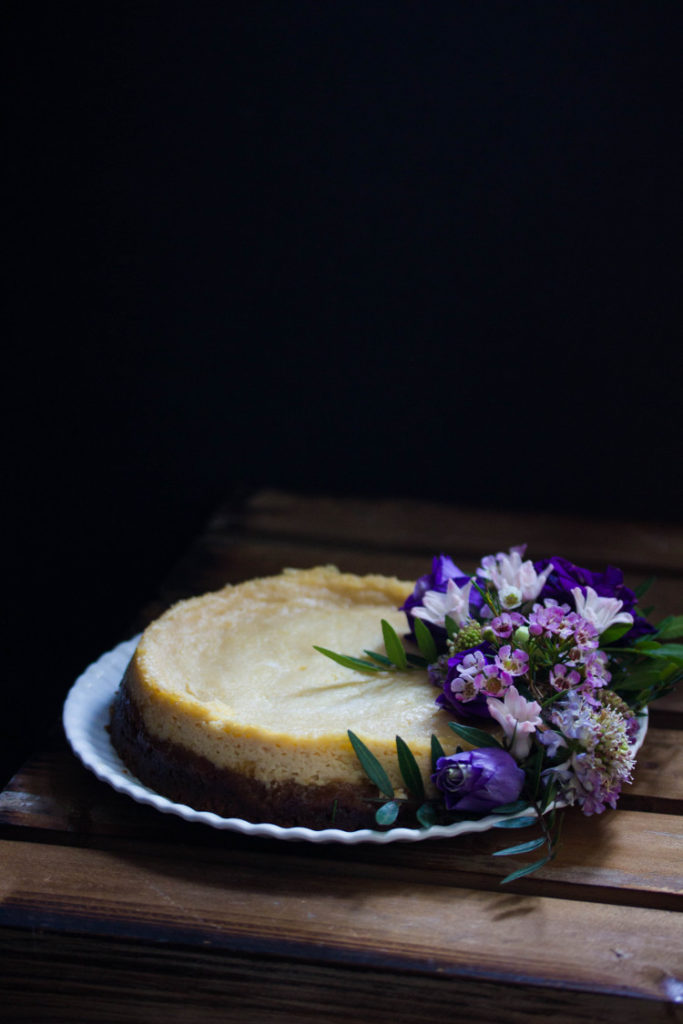 Cheesecake traditionnel version vegan