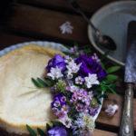 Cheesecake fondant au citron végétalien