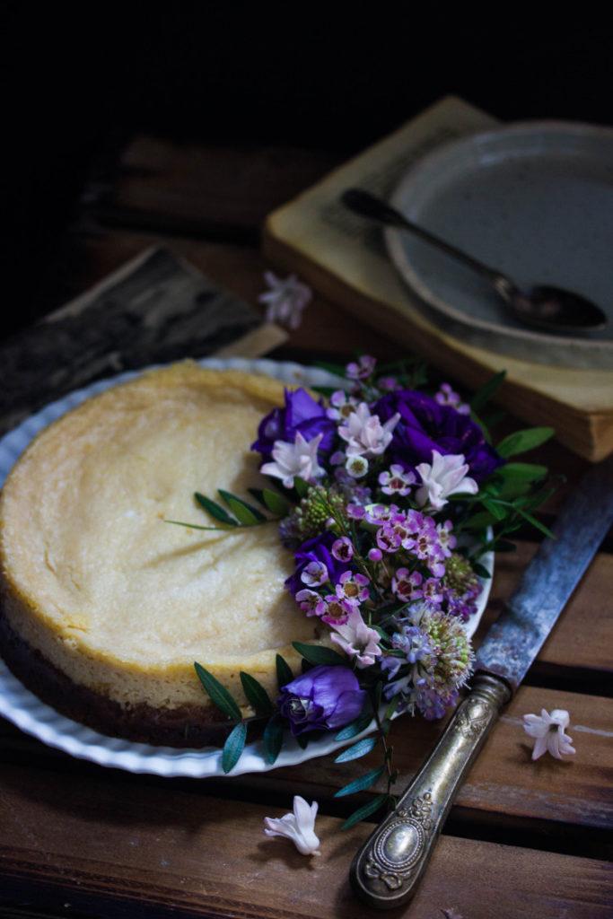 Cheesecake citron philadelphia