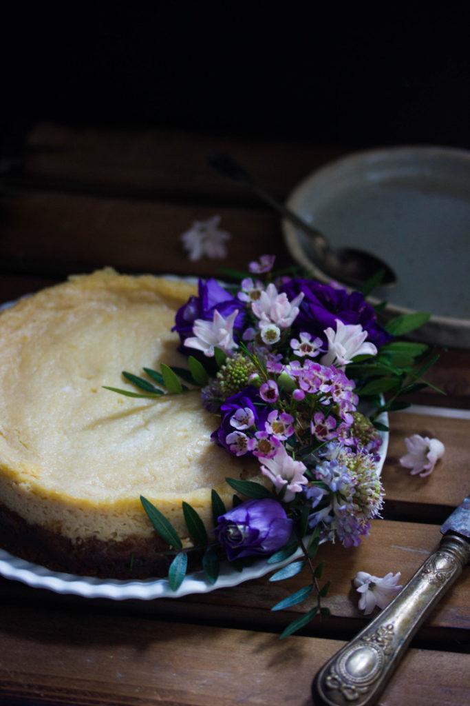 Cheesecake au citron léger