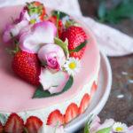 Recette du fraisier vegan