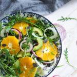 Salade au fenouil et à l'orange