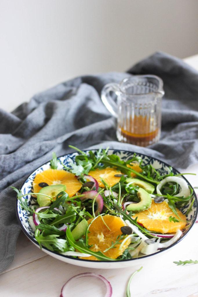 Salade légère au fenouil