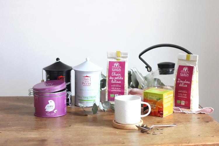 Sélections de thés biologiques avril 2018