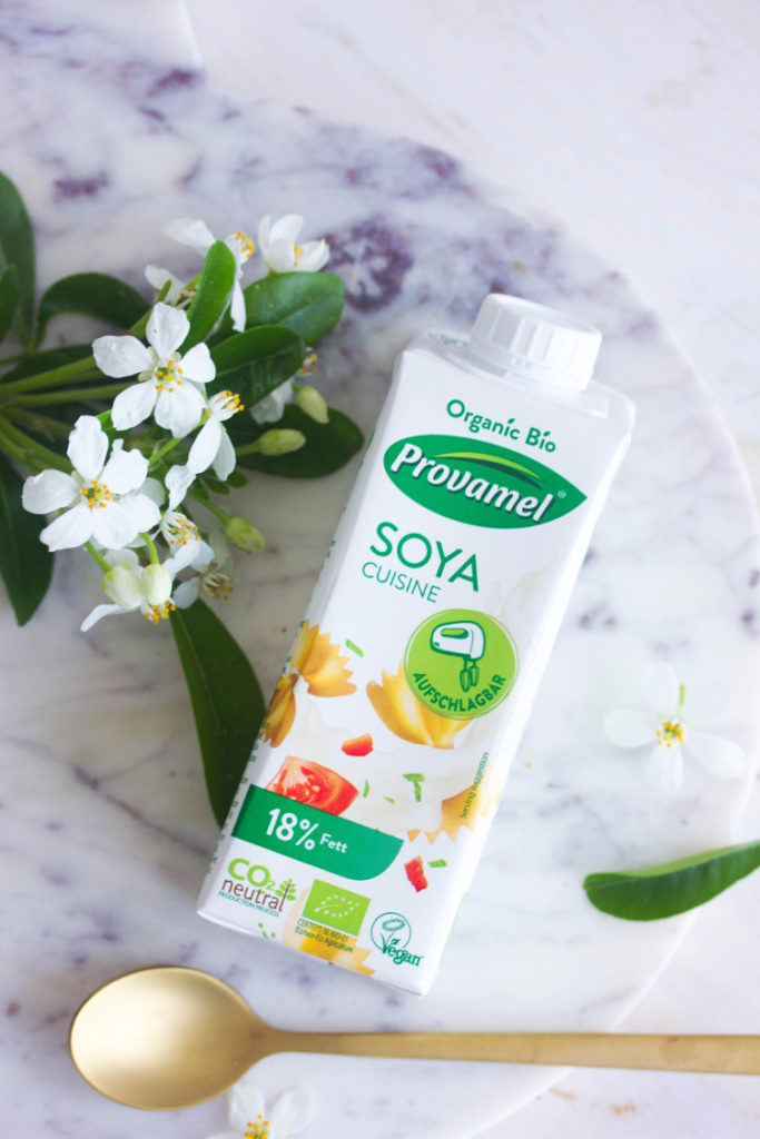 Crème de soja à fouetter bio