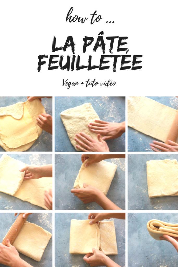 pâte feuilletée vegan facile