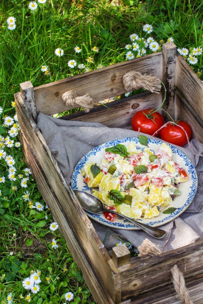 Salade piémontaise végétalienne
