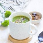 Soupe aux queues d'asperges vertes