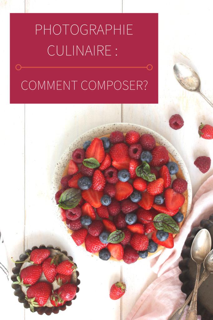 Comment composer une photographie culinaire?