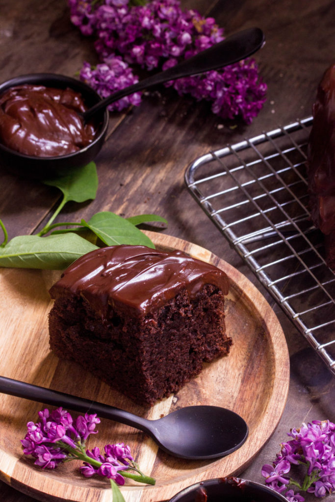Gâteau au chocolat moelleux vegan