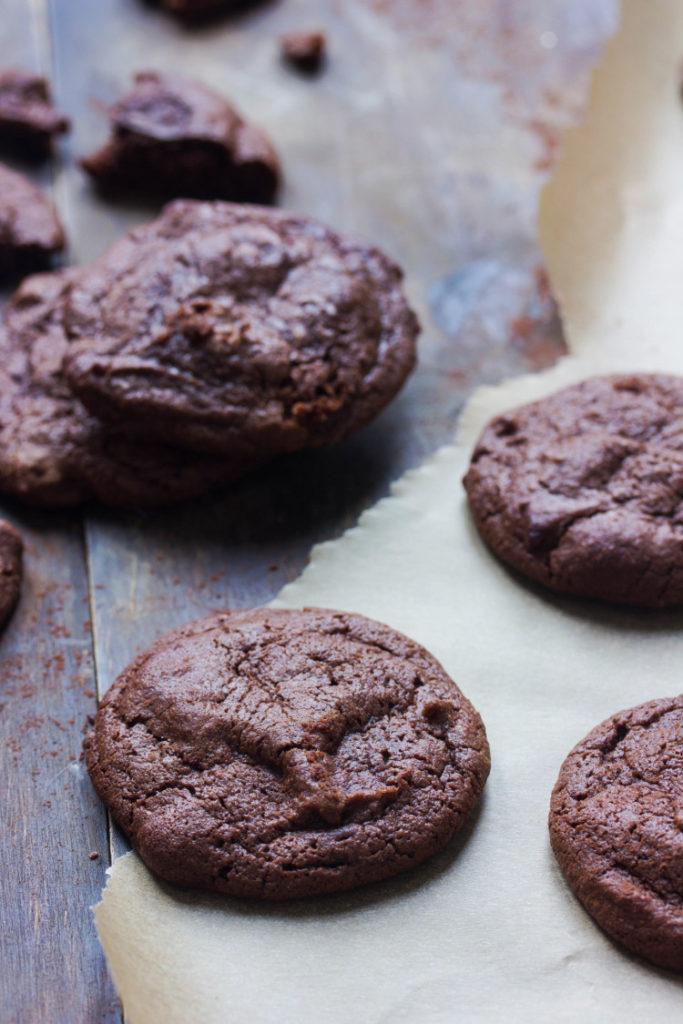 Cookies façon brownie végétaliens