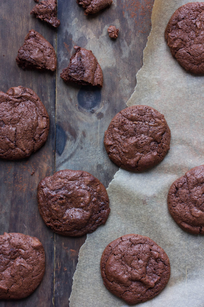 Cookies brownie sans gluten
