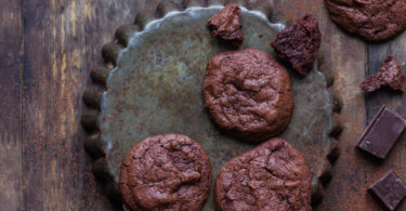 Cookies au chocolat façon brownie