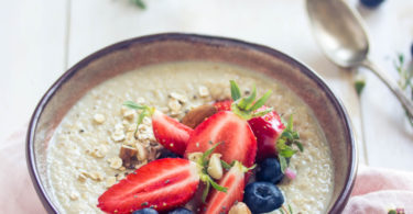 Porridge vegan facile