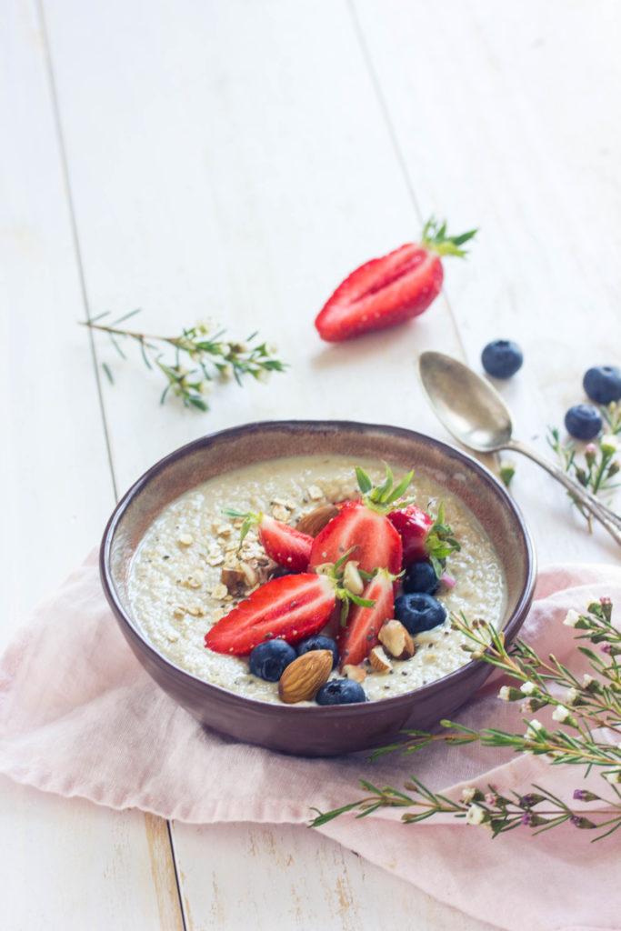 Recette de porridge crémeux