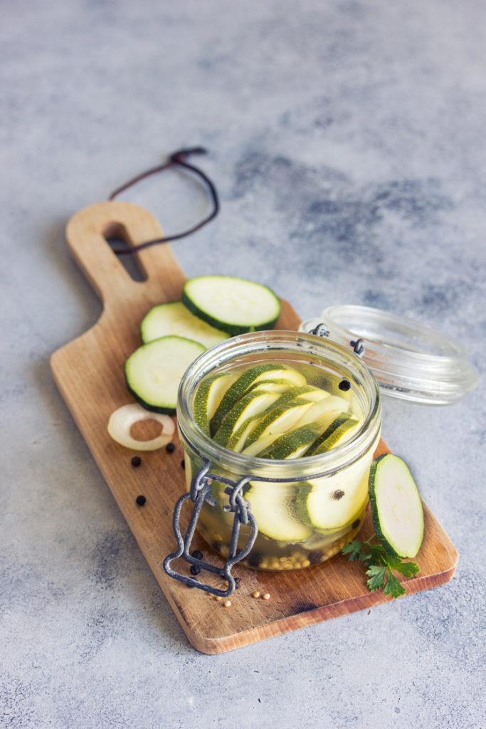 Courgette façon pickles