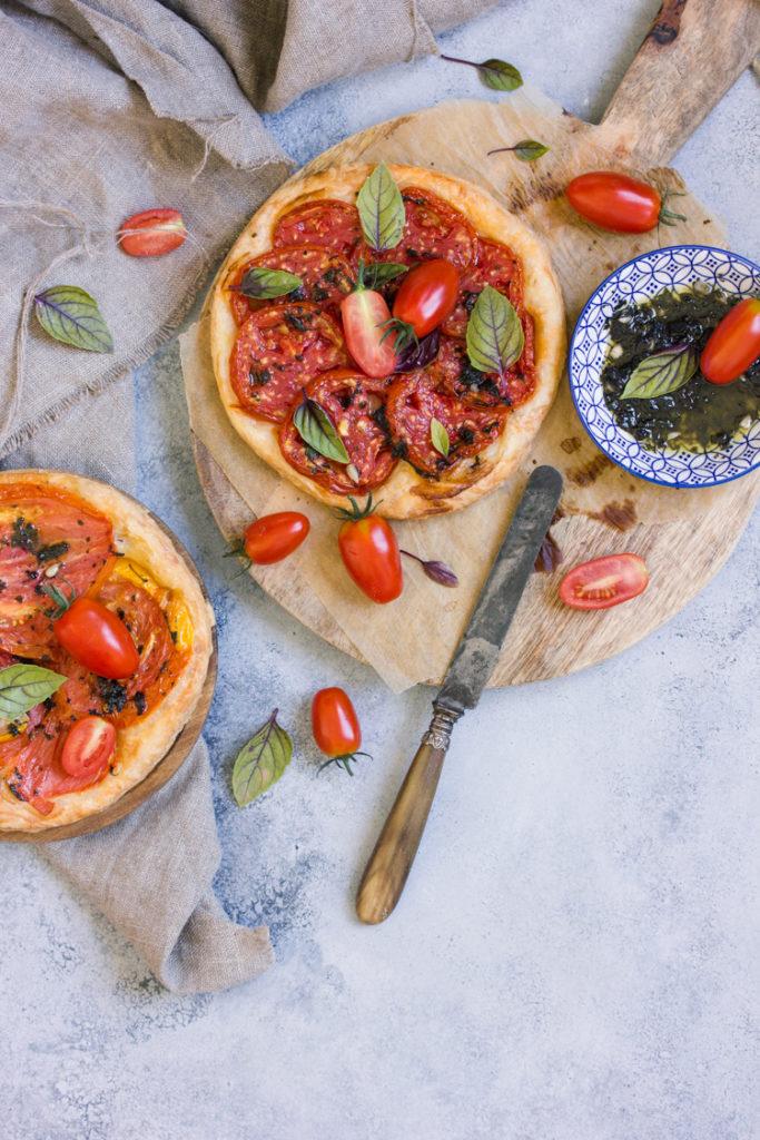 Recette de tarte à la tomate