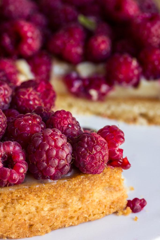 Recette de tarte à la crème d'amandes vegan