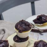 Muffins au chocolat sans oeufs