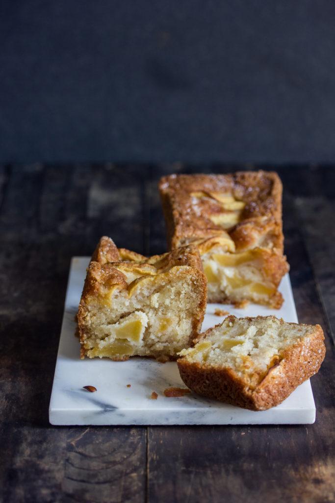 Cake aux pommes sans beurre