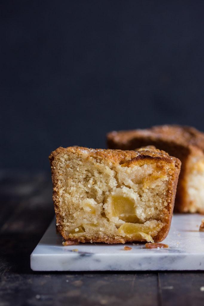 Cake aux pommes vegan