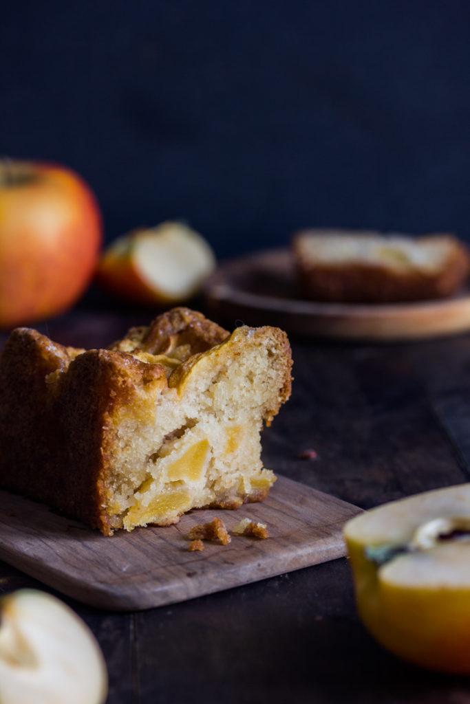 Recette de cake aux pommes vegan