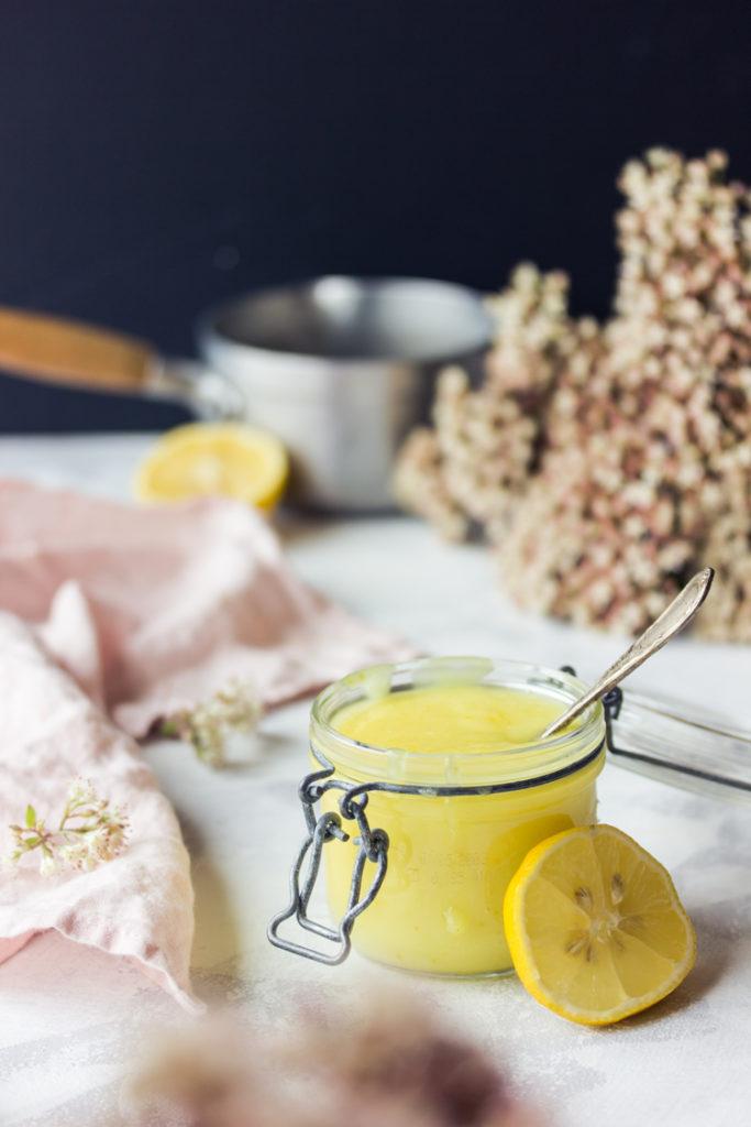 Lemon curd sans oeufs