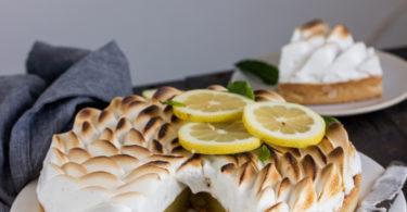 Tarte au citron meringuée aquafaba