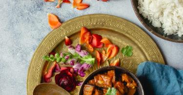 Recette de curry d'aubergine indien