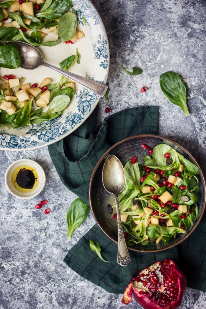 Salade detox à la mâche