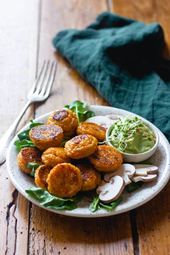 Croquettes quinoa et patate douce