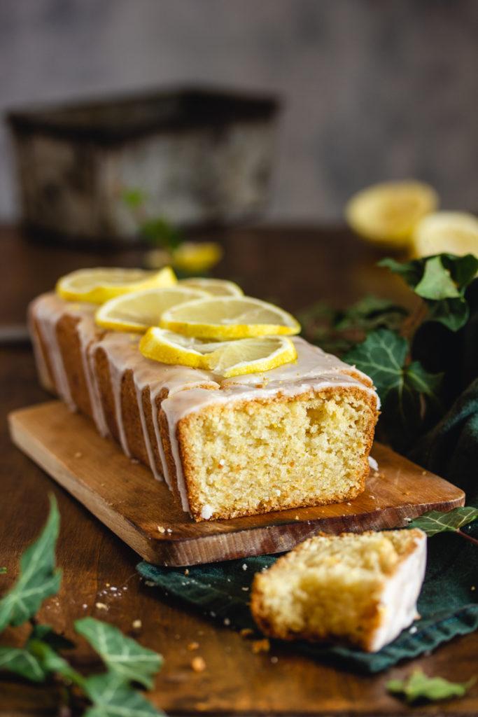 Recette de cake au citron glacé