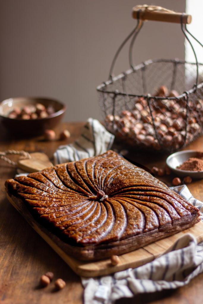 Galette des rois vegan au chocolat