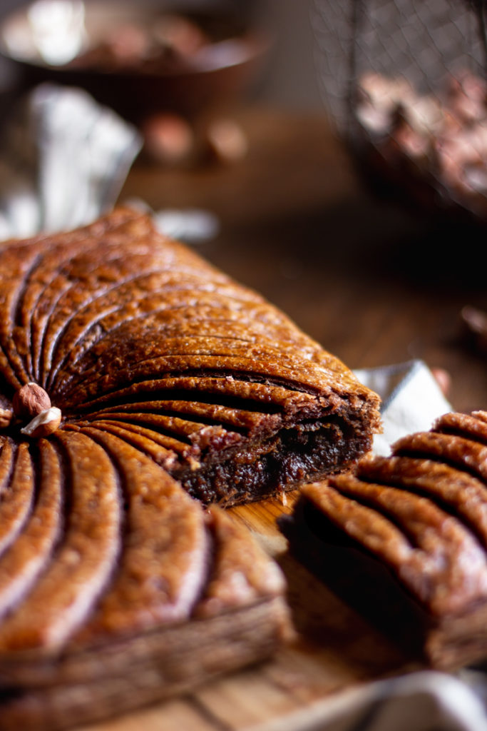 Galette des rois noisette et chocolat