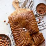 Galette vegan au chocolat