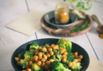 Recette de pois chiches rôtis à l'huile d'olive