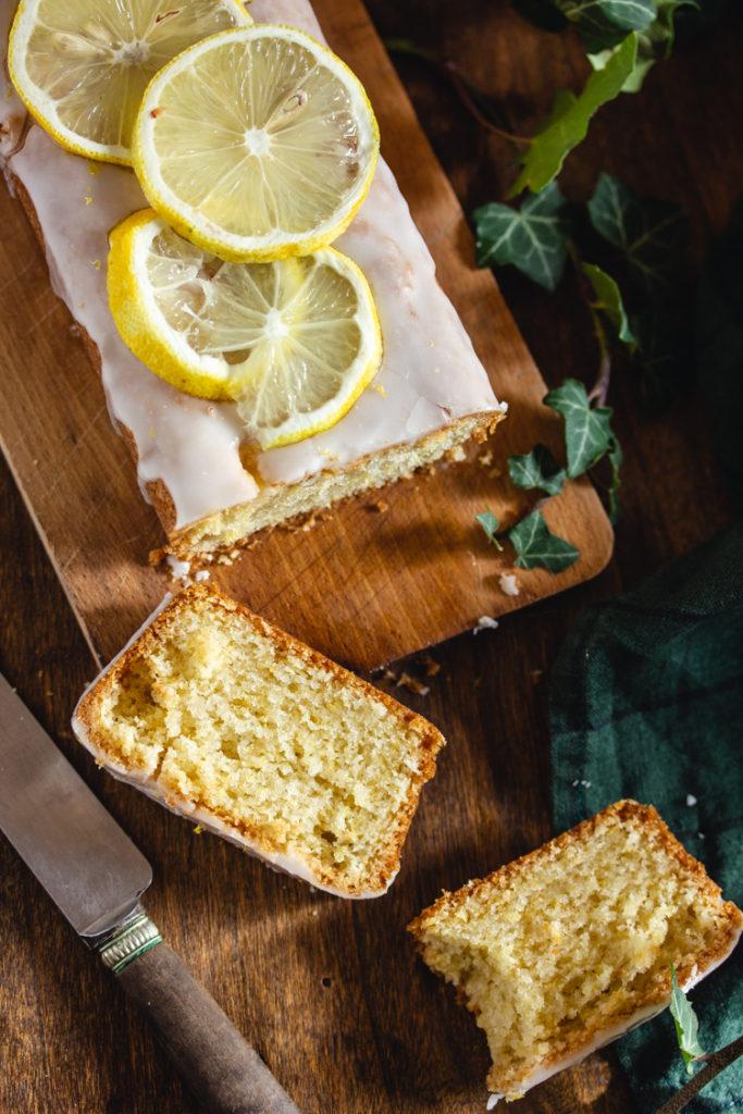 Cake au citron sans beurre