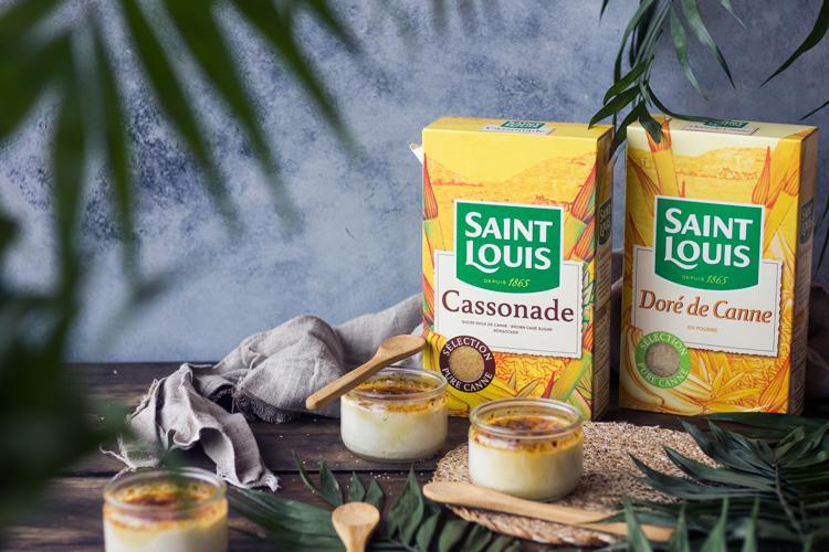 Cassonade Saint Louis pour les crèmes brûlées